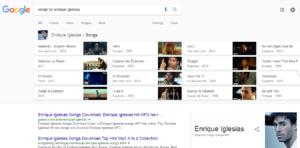 Google Artist Search