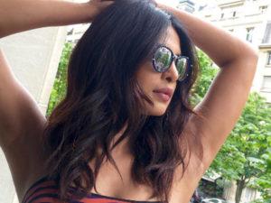 Priyanka Chopra Instagramming