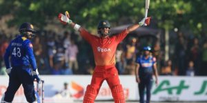 Sikandar Raza Hits Six To Seal The 5th ODI And The Series
