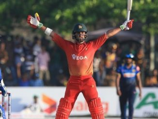 Read Scoops - Sikandar Raza Hits Six To Seal The 5th ODI And The Series