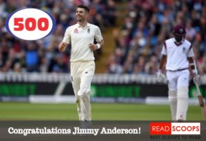 Read Scoops James Anderson 500 test wickets