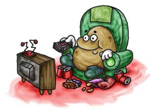 Read Scoops Bad Habits - Couch Potato