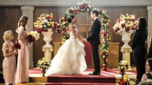 Barry Allen and Iris West Weddig