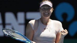 Sharapova Read Scoops