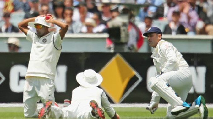 India slip fielding