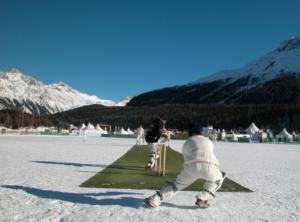 Cricket on ice