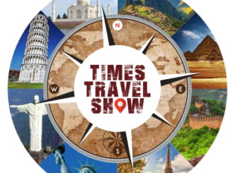 Times travel Show logo