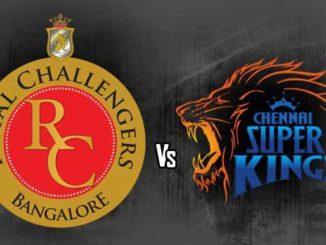 RCB vs CSK
