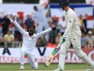 Akila Dananjaya to miss 3rd England test because of a suspect action