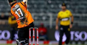 Ben Duckett wins Man of the Match in the Mzansi Super League