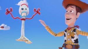 Forky is a new character in the Toy Story 4 movie