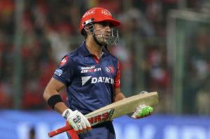 Gautam Gambhir released from Delhi Daredevils IPL 2019 squad