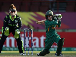 Javeria Khan stars with 74* against Ireland Women