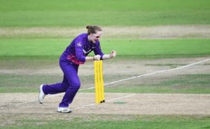 Kristie Gordon took 3 wickets in this Group A WWT20 match