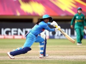 Mithali Raj scores a fifty in the ongoing Women's WOrld T20 against Pakistan