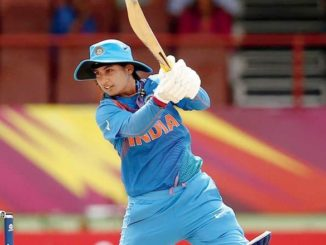 Mithali Raj scores her second fifty of the 2018 Women's World T20