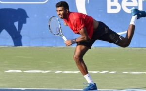 Prajnesh Gunneswaran progresses to the APT Challenger Bengaluru Open 2018