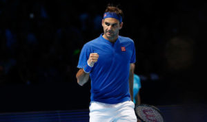 Roger Federer progresses to 2018 ATP Finals semi final