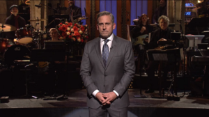 Steve Carell speaks about The Office on Saturday Night Live
