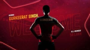 Gurkeerat Singh to play for RCB in IPL 2019