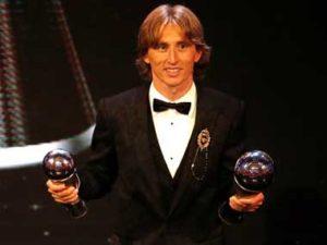 Luka Modric wins 2018 Ballon D'Or award
