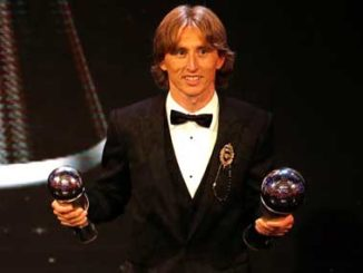 Luka Modric wins 2018 Ballon D'Or award