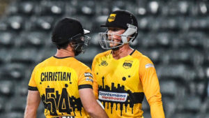 Rassie van der Dussen powers Jozi Stars to victory in MSL T20