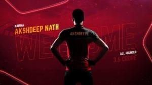 Akshdeep Nath RCB twitter