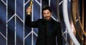 CHristian Bale wins the best actor in a drama film in the 2019 GOlden GLobe awards