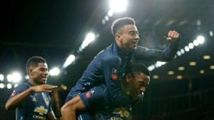 Manchester United beat Arsenal 3-1 in the FA Cup