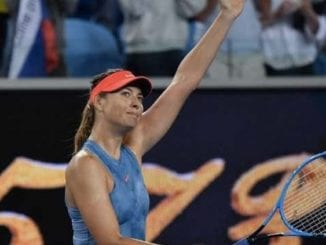 Maria Sharapova beats Rebecca Peterson in Round 2 of the 2019 Australian Open
