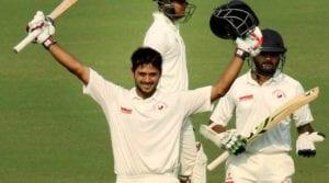 Priyank Panchal soaks in the applause