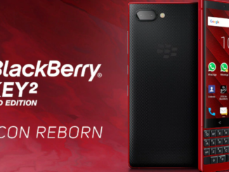 Blackberry Key2 launches Red Edition