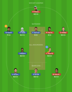 South Africa vs Pakistan 3rd T20I fantasy team