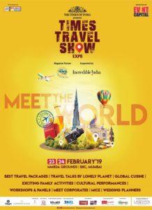 Online digital partner of Times Travel Show 2019