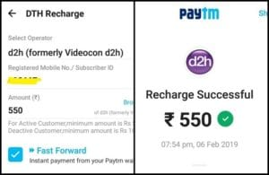Videocon D2H failure of services