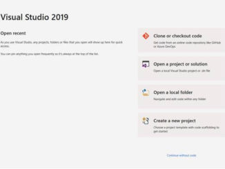 Visual Studio 2019 New Features
