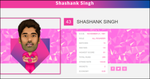 Shashank Singh moves to Rajasthan Royals for IPL 2019