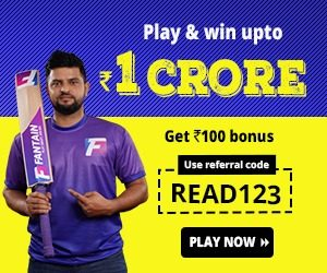 Sign up to Fantain fantasy cricket league | Read Scoops