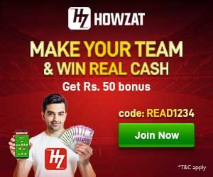 Sign up to Howzat fantasy sports | Read Scoops