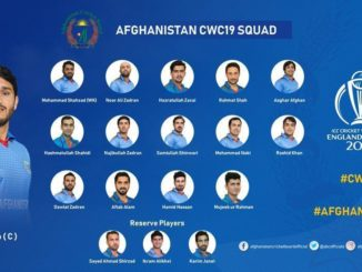 ICC 2019 World Cup - Afghanistan Team Preview
