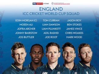 ICC World Cup 2019 - England Team Preview
