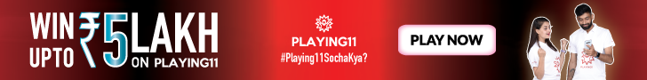 Sign-up to Playing11 fantasy cricket