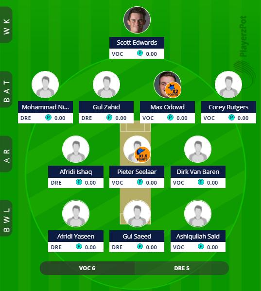 ECL 2019 - Rotterdam vs Dreux Fantasy Team