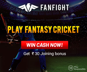 Sign-up to FanFight and get Rs.30 FREE
