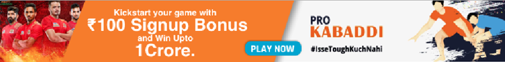 Sign up to Nostragamus to play Kabaddi Fantasy