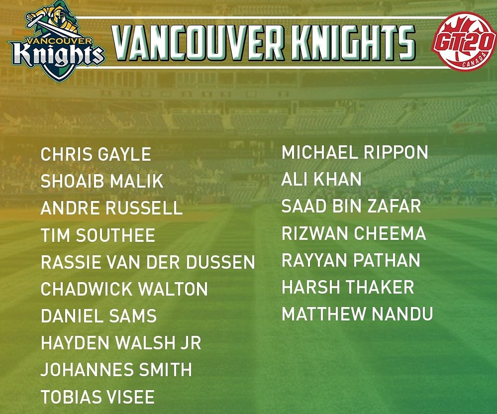 Vancouver Knights Squad