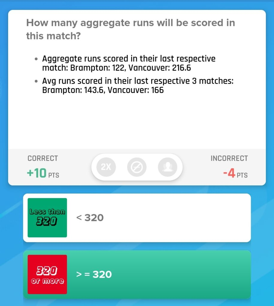 GT20 Canada Match 14 - VK vs BRW Nostragamus Picks
