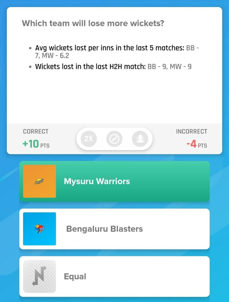 KPL 2019 Match 1 - Blasters vs Warriors Nostragamus Picks