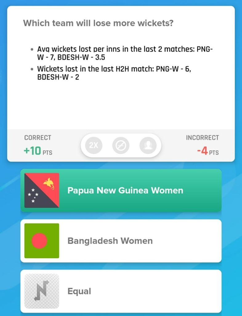 WT20 Qualifiers 2019 - BAN-W vs PNG-W Nostra Picks